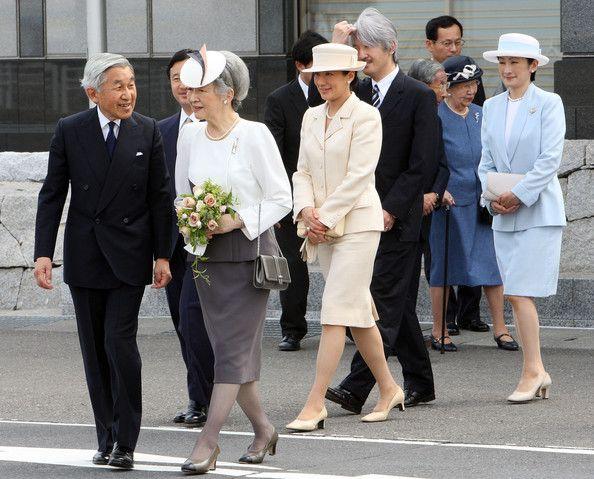 Emperor Akihito And Empress Michiko Depart For Canada And Hawaii