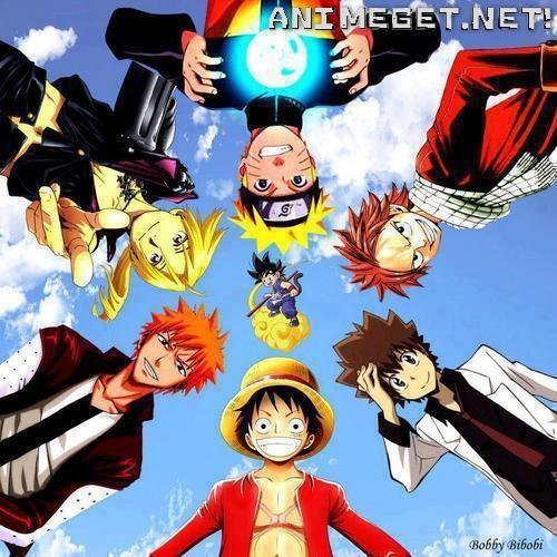 AHH!! Ichigo, Natsu, Luffy, Ed, Naruto, Tsuna, Goku!!! :D