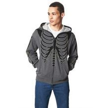 Glow-In-The-Dark Skeleton Hooded Sweatshirt from Sears Catalogue  $39.99