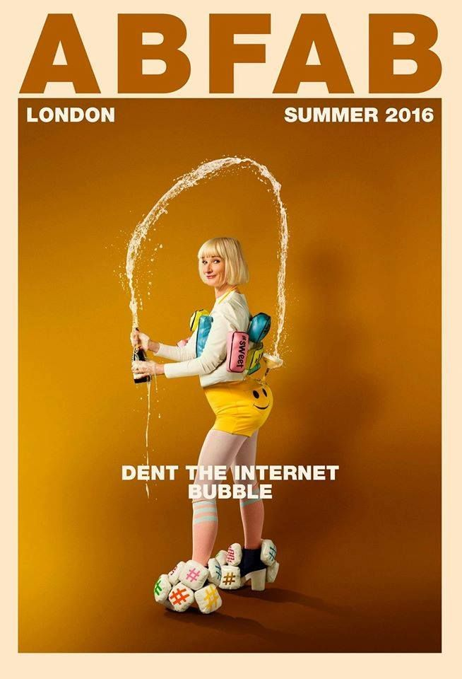 Ab Fab movie Bubble.