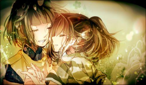 Haku & Chihiro - Spirited Away