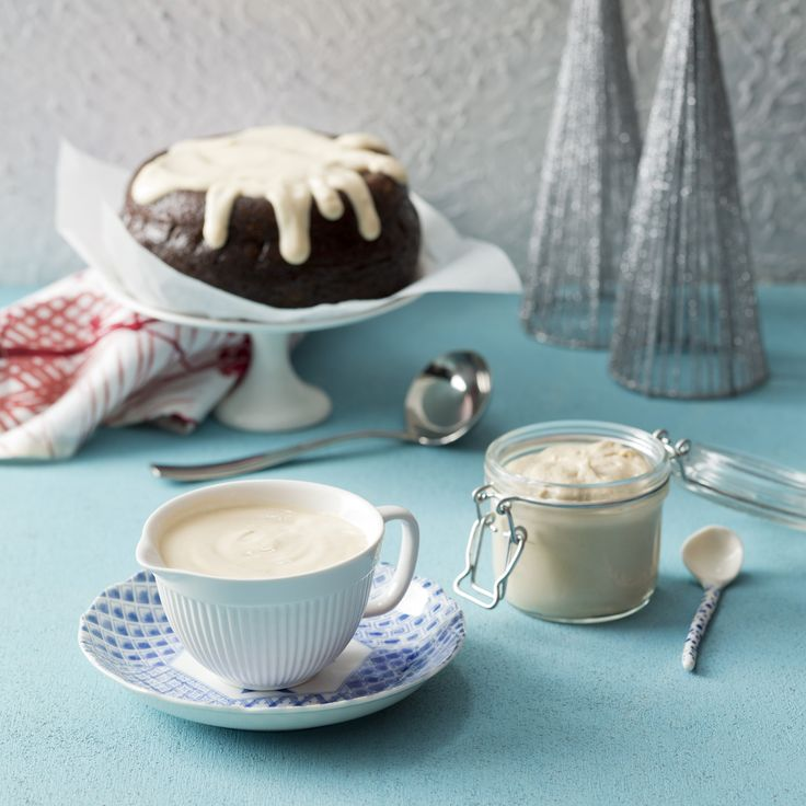 Brandy cream and Brandy cashew cream   | Thermomix Festive Flavour cookbook and recipe chip | Christmas and Entertaining Recipes