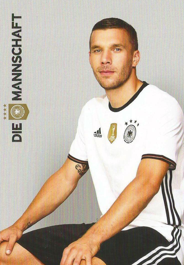 Lukas Podolski Die Mannschaft  EuroCup 2016