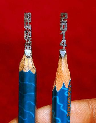 Best Pencil Carving Ideas On Pinterest Art And Hobby Shop - 8 astonishing tiny sculptures carved on the tips of pencils