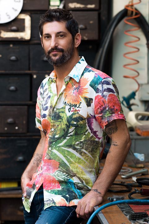 Tony Ward Reconnects with Desigual for Summer 2014