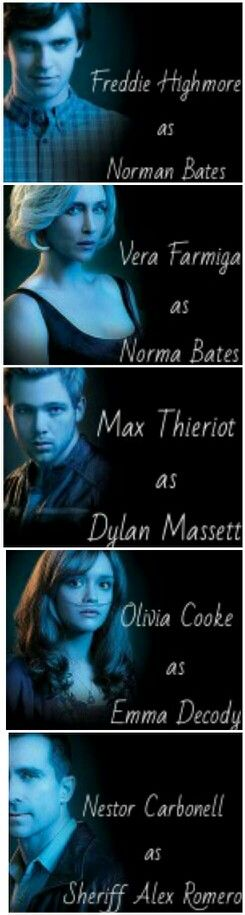 Bates Motel. Weirdest, most confusing, awesome show!!