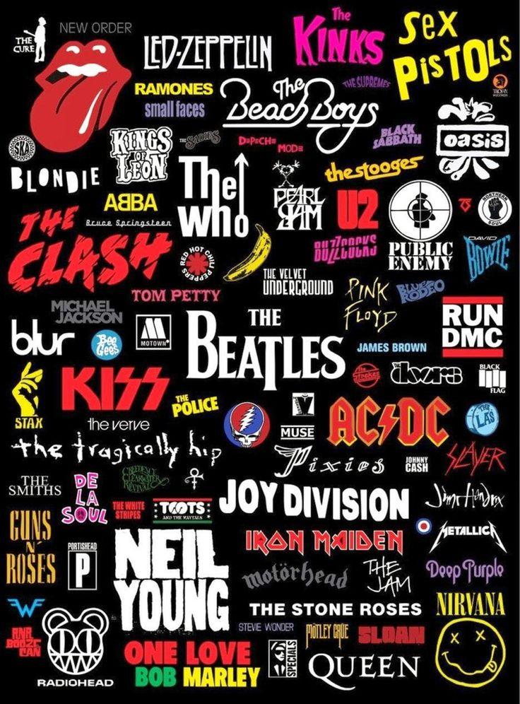 Best 25 Rock Band Logos Ideas On Pinterest Rock Bands