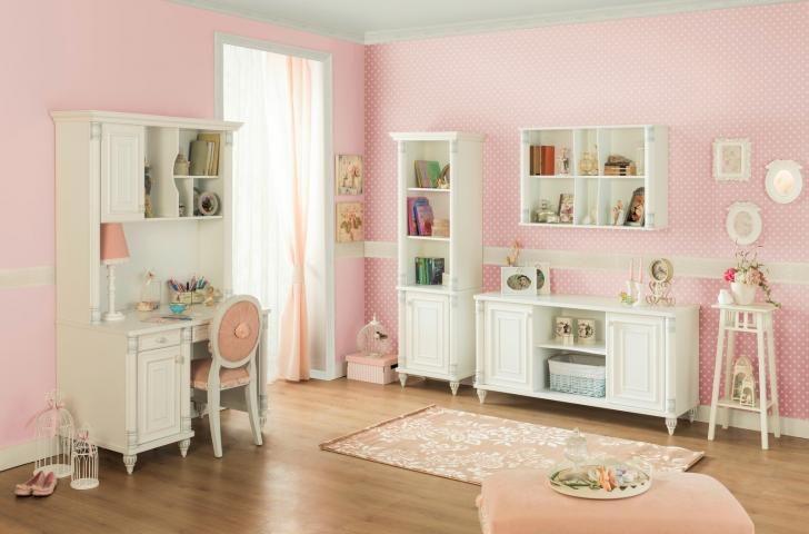 Romantic meisjeskamer meubels kinderkamer