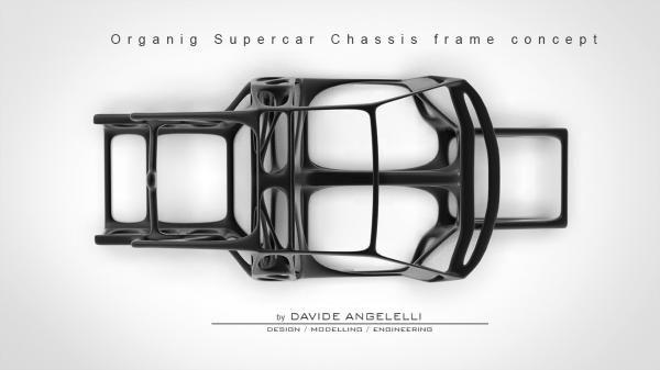 Lamborghini Aventador Organic Chassis Frame | chassis