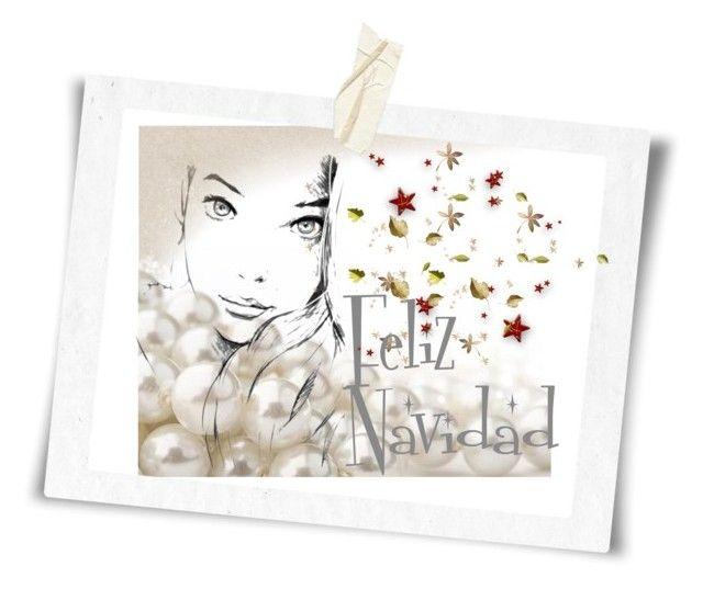 """""""Cartón de Navidad"""" by sky31-1 on Polyvore featuring art"""