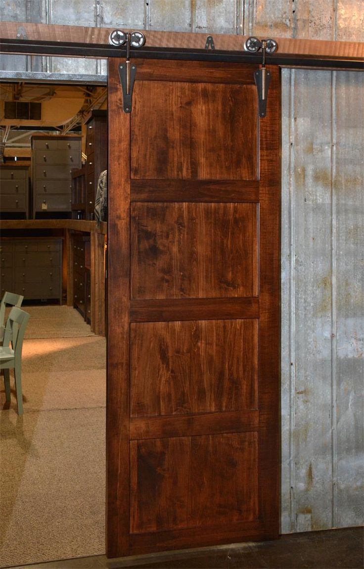 Double Farmhouse Sliding Barn Doors