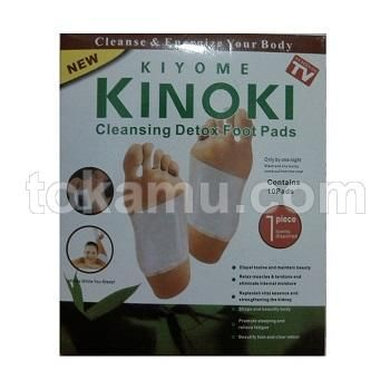Kinoki, Koyo Kaki Herbal Detox Foot Patch Putih - 1 Kotak