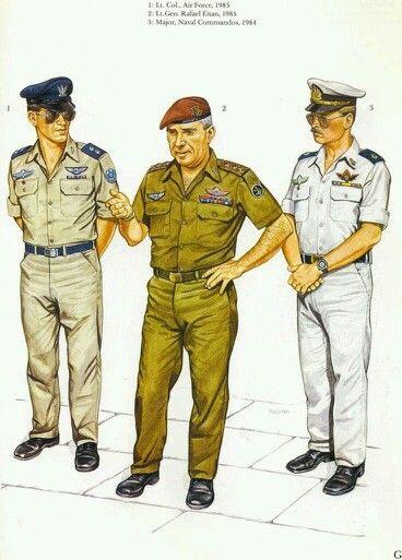 İsrail 1980 ler subayı