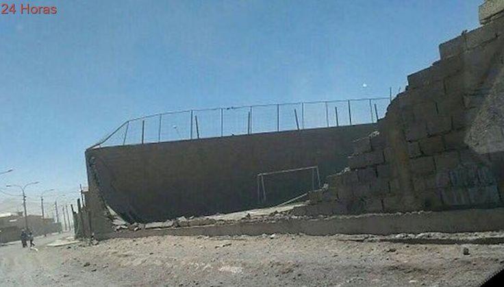 Tormentas arena y polvo se registran en la región de Antofagasta