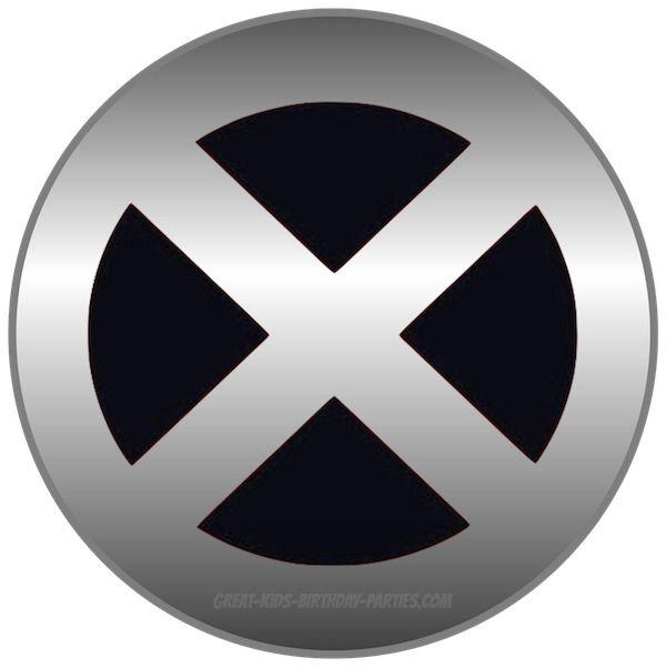 Free #X MEN Logo and lots of Superhero printables, all free.