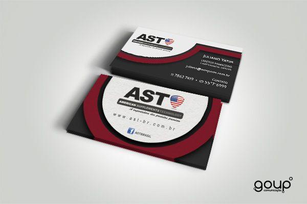 Cartão de visita - Ast Sports