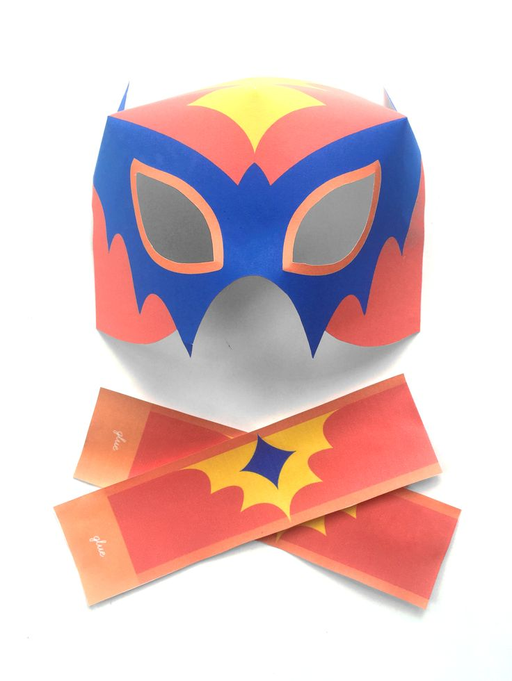 Mexico Party Mask Template 88