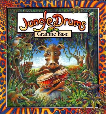 Jungle Drums book unit by Graeme Base