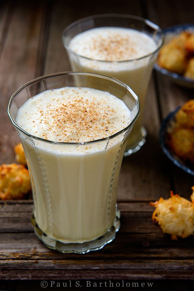 Traditional, Egg nog and Coconut rum on Pinterest