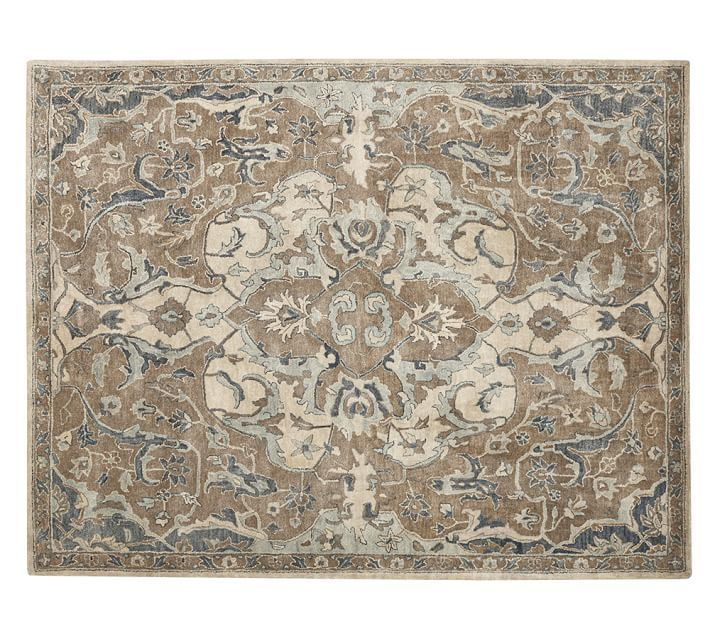 Details About Pottery Barn Nolan 8X10 Persian Wool Area Rugs Living Room