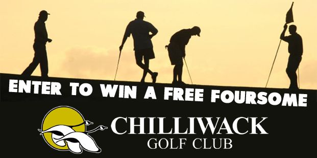 Enter to win a FREE foursome at Chilliwack Golf & Country Club!