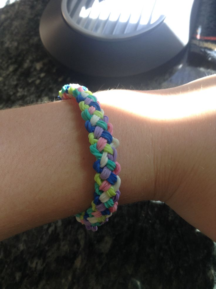41 Best Images About Rainbow Loom Bracelets On Pinterest