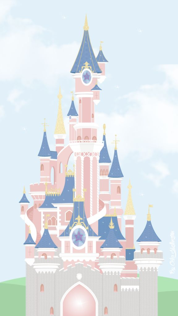 Cinderella Castle iPhone Wallpaper Day