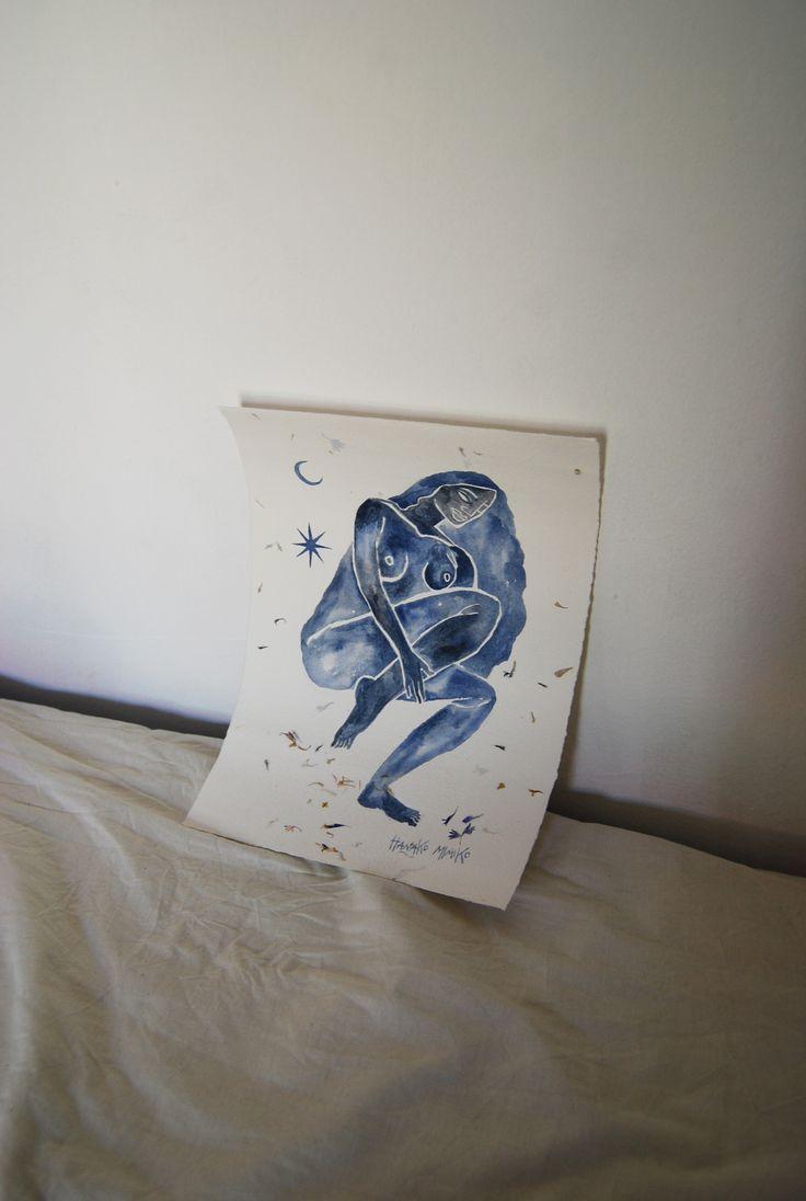 Original Drawing by Hanako Mimiko