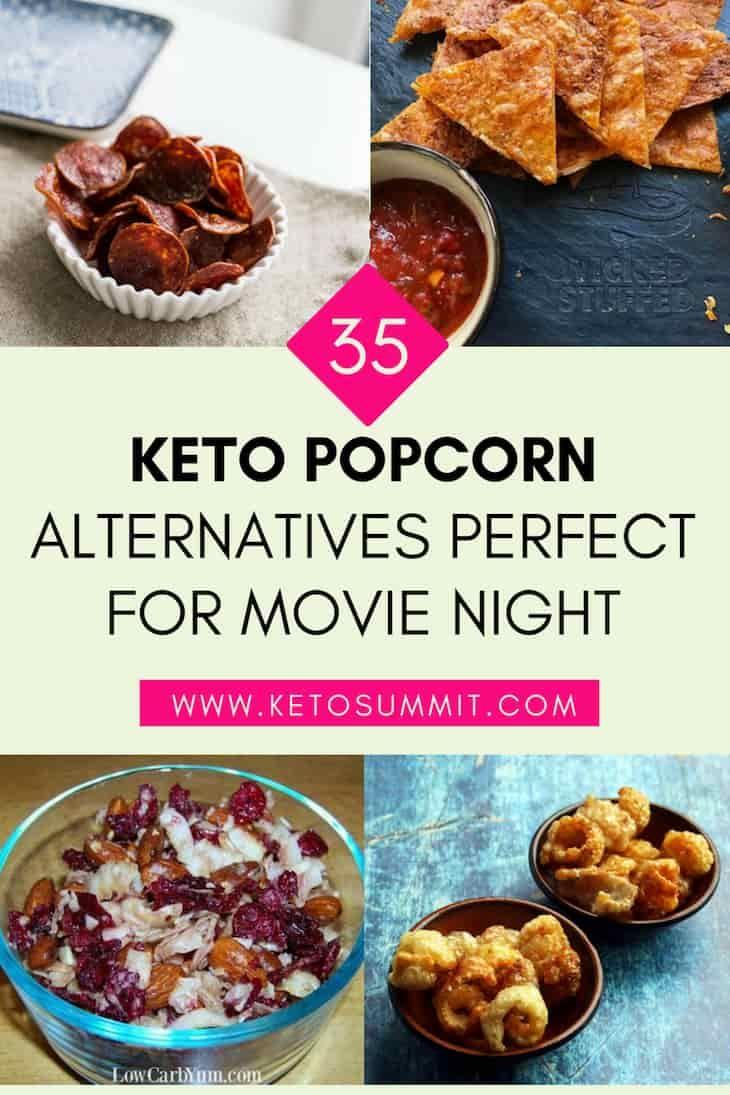 good movie snack on a keto diet