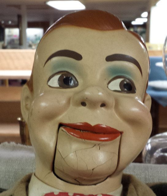 Ventriloquist Dummies Are The Scariest Thing Ever  http://puppet-master.com - THE VENTRILOQUIST ASSISTANT