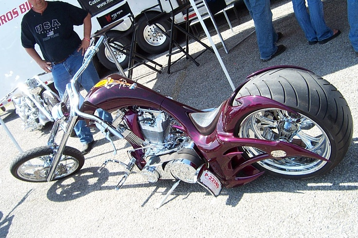 Martin Brothers Chopper at ROT Rally 2005