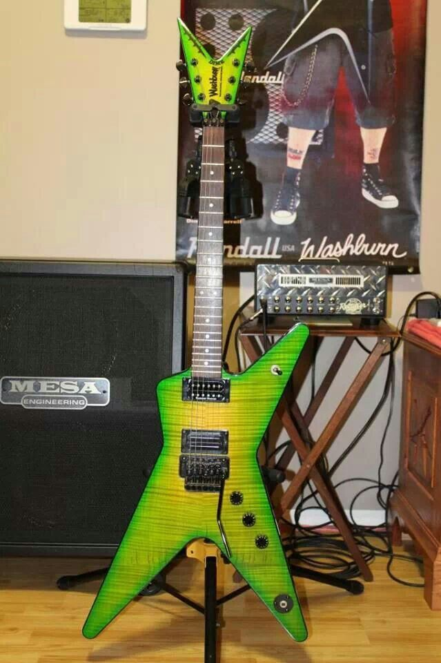 Washburn Dimebag Darrell Dime Slime - this was my backup choice if I didn't buy the Dean Roots ML.