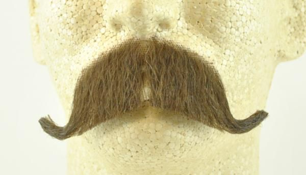 Fake Walrus Mustache - Costumes Wigs Theater Makeup and Accessories