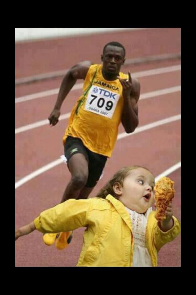 Funny Meme Girl Running : Run with that chicken too cute funny neat pinterest