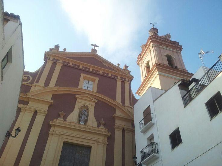 Gestalgar. Iglesia y campanario.