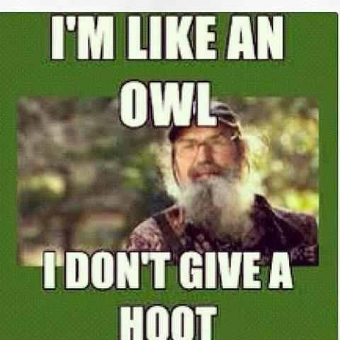 If you do not watch duck dynasty you are CRAZY it comes on Wed. Nights at 7:00 or 7:30 or 8:00