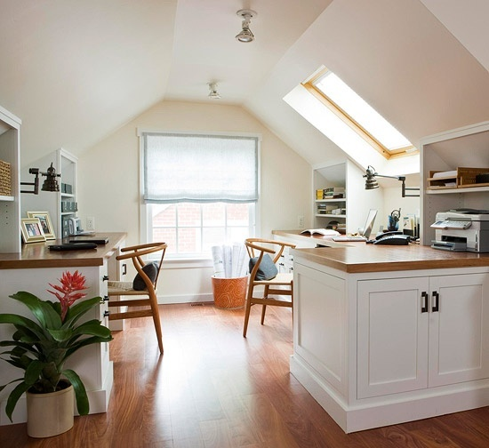 I would love to finish our attic and put an office in