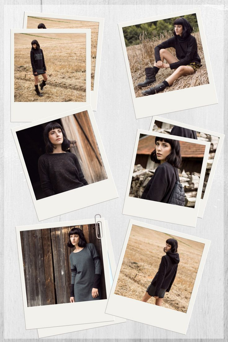 Kamila Gronner fall winter 2014/15 collection collage.