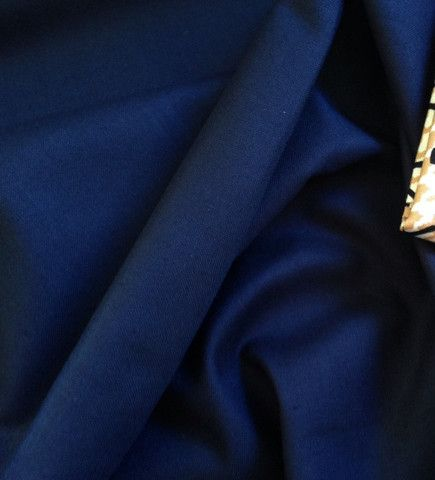 Navy Blue Homespun cotton fabric $2.00 #homespun #fabric