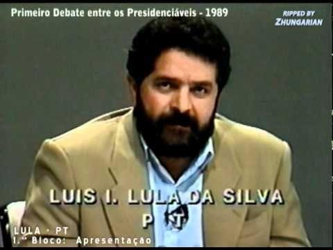 Primeiro Debate dos Presidenciáveis, em 17 de Julho de 1989 - Versão Int...