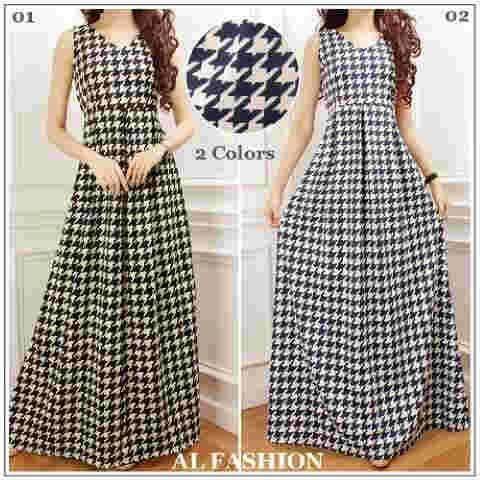 Maxi dress wanita cantik safira maxi S414