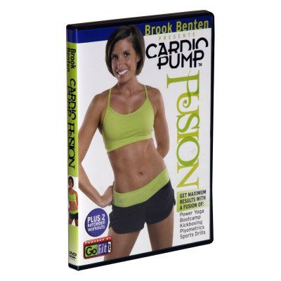 GoFit Brook Benton Cardio Pump Kettlebell Workout DVD - GF-CARDP