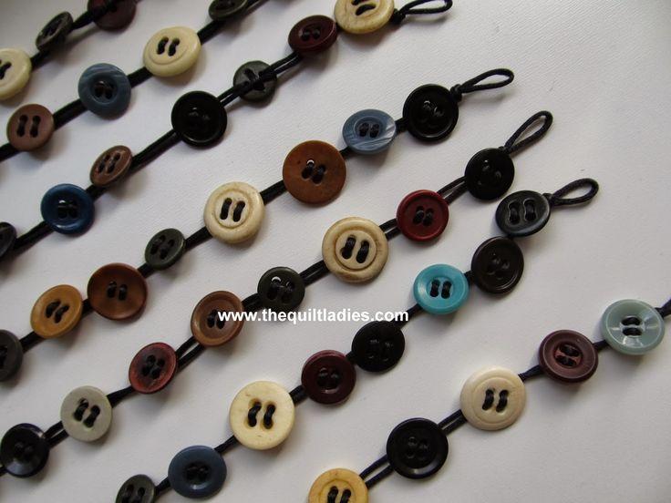 how to make a button bracelet