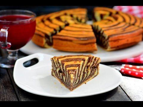 Zebra  Kek  Tarifi ( Lezzet garantili nefis bir kek)