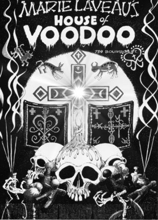 Marie Laveau's House of Voodoo on Bourbon Street is a great tourist spot for all those voodoo doll & hexing spell needs!