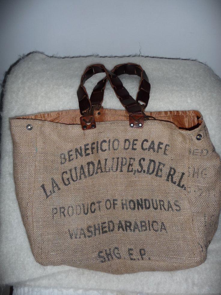 sac cabas toile de jute recyclée : Autres sacs par ranchem