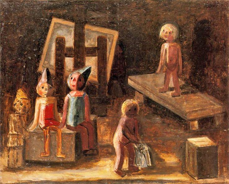 Tadeusz Makowski - Mała modelka, 1929