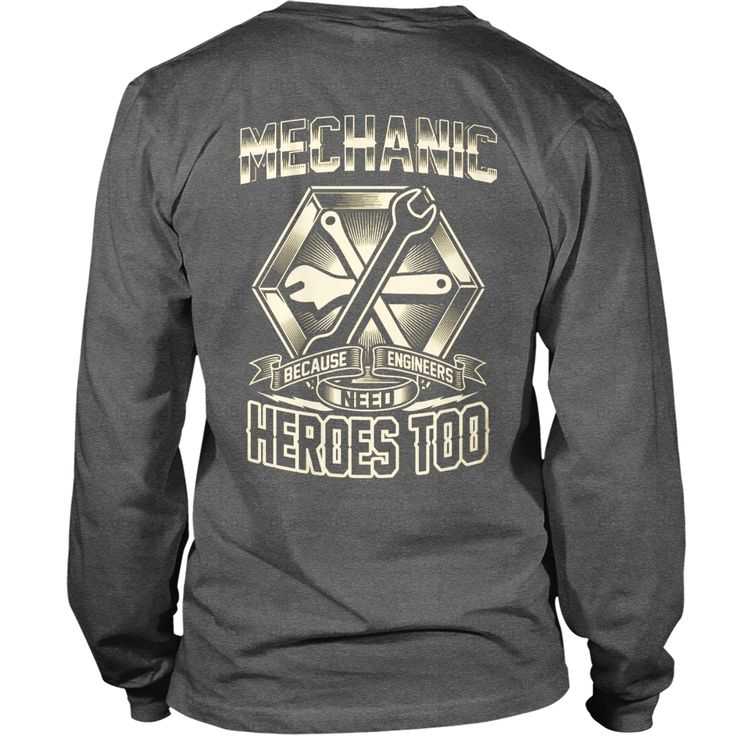 Mechanic - Because Engineers Need Heroes, Order HERE ==> https://www.sunfrog.com/Jobs/119064300-557514174.html?53624, Please tag & share with your friends who would love it, redhead sayings life, redhead sayings products, redhead sayings so true #pompier , #pets, #architecture  #quote deep, motivational #quote, love quote, quote libros  #quote #sayings #quotes #saying #redhead #holidays #ginger #events #gift #home #decor #humor #illustrations