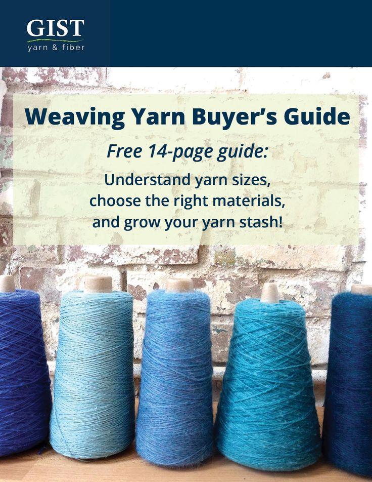 Weaving yarn - alpaca, cotton, wool, silk, linen, and hemp yarn for weavers