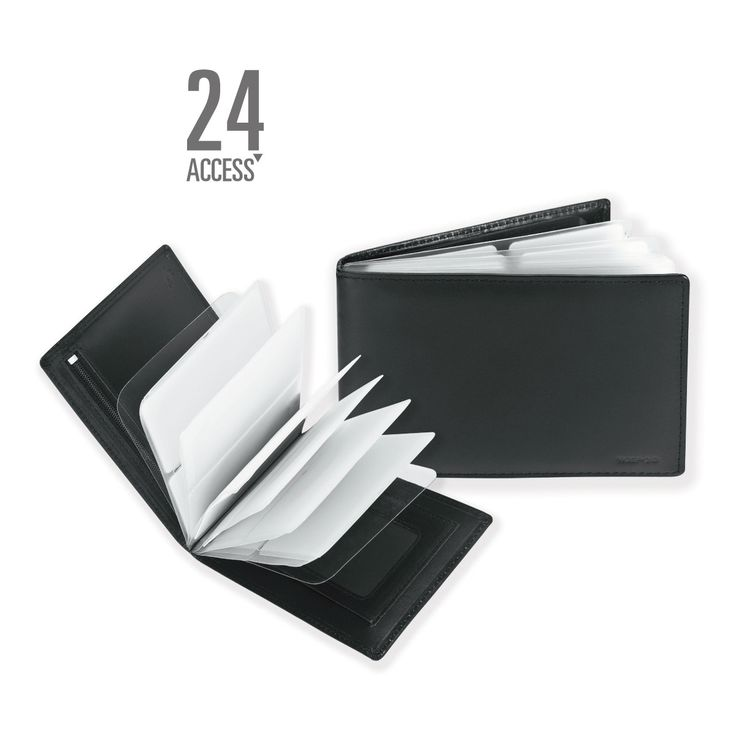 11 Womens Card Plus Purse _ Black